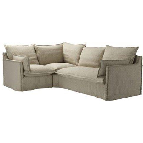 Isaac Asym: Lhf Single W Rhf 2 Seat Sofabed In Flax ...