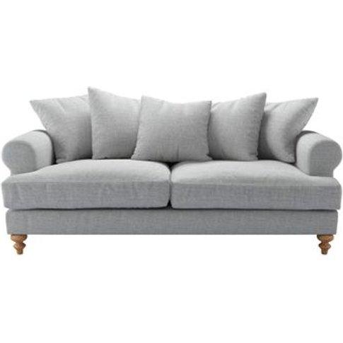 Teddy 3 Seat Sofa In Frost Highland Tweed