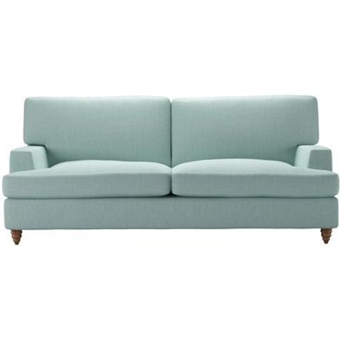 Isla 3 Seat Sofabed In Cambridge Blue Pure Belgian L...