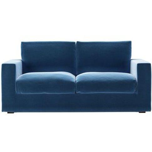 Stella 2.5 Seat Sofa Bed In Bahama Cotton Matt Velvet