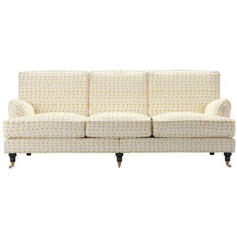 Bluebell 4 Seat Sofa In Gail Bryson Soni Yolk