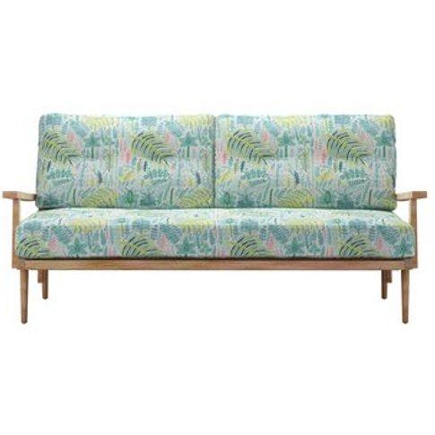 Hendrik 3 Seat Sofa In Dawn Lucy Tiffney London Lagoon