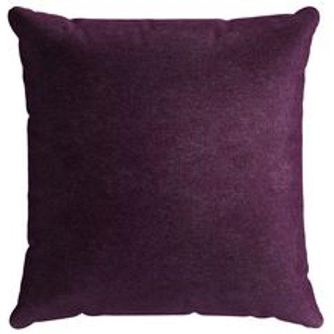 55x55cm Scatter Cushion In Plum Smart Velvet