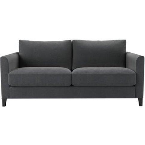 Izzy 2.5 Seat Sofa In Truffle Cotton Viscose Twill