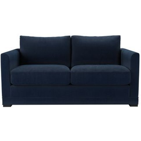 Aissa 2 Seat Sofa (Breaks Down) In Egyptian Blue Cot...