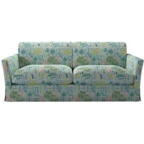 Otto 3 Seat Sofabed In Dawn Lucy Tiffney London Lagoon