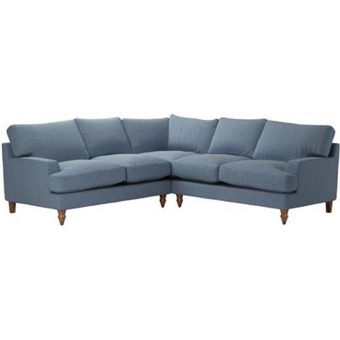 Isla Medium Corner Sofa In Stream Dovedale