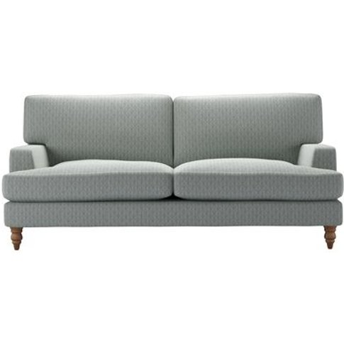 Isla 3 Seat Sofa In Nickel Hawthorn Stencil