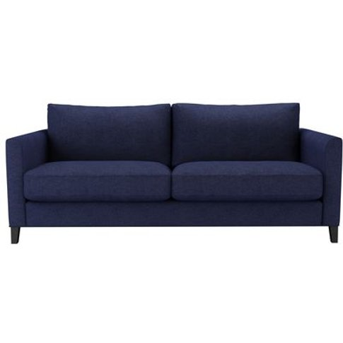 Izzy 3 Seat Sofa (Breaks Down) In Woad Soft Wool