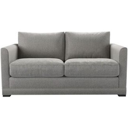 Aissa 2 Seat Sofabed In Abalone Smart Slubby Cotton