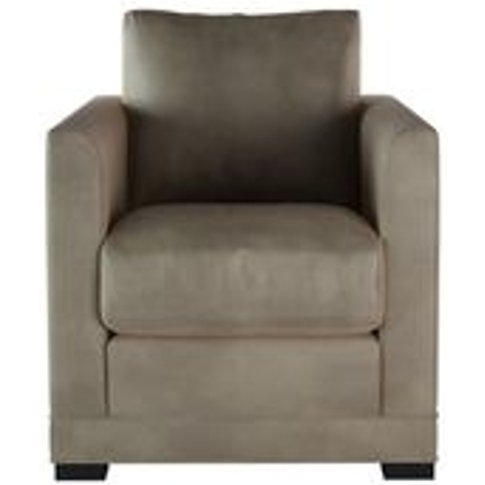 Aissa Armchair In Latte Bellwether Leather