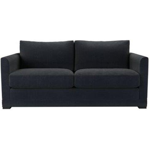 Aissa 2.5 Seat Sofa In Basalt Cotton Viscose Twill