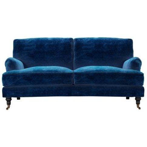 Bluebell 2.5 Seat Sofa (Breaks Down) In Navy Filigree