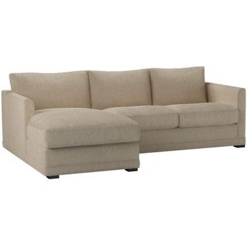 Aissa Small Lhf Chaise Sofa In Cashew Baylee Viscose...