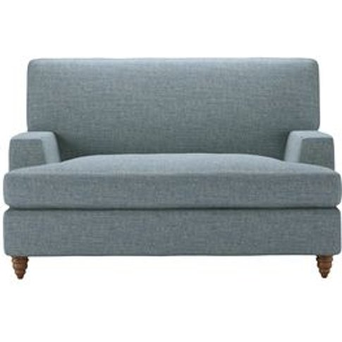 Isla Loveseat Sofabed In Hydrangea Highland Tweed