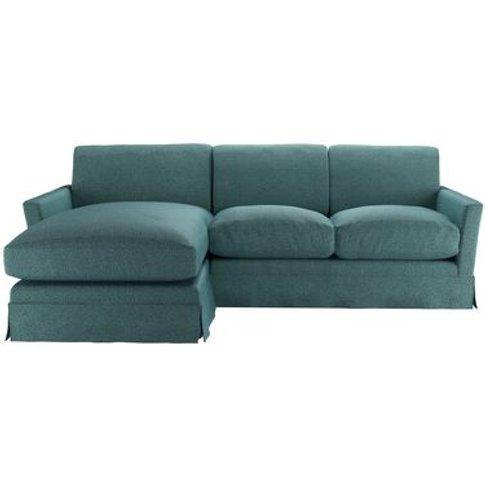 Otto Medium Lhf Chaise Sofa In Crocodile Dappled Vis...