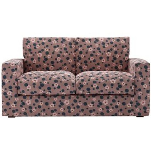 Stella 2 Seat Sofa (Breaks Down) In Pink Elephant Wild Thing