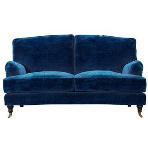 Bluebell 2 Seat Sofa (Breaks Down) In Navy Filigree