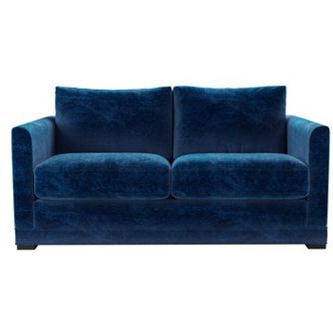 Aissa 2 Seat Sofa In Navy Filigree