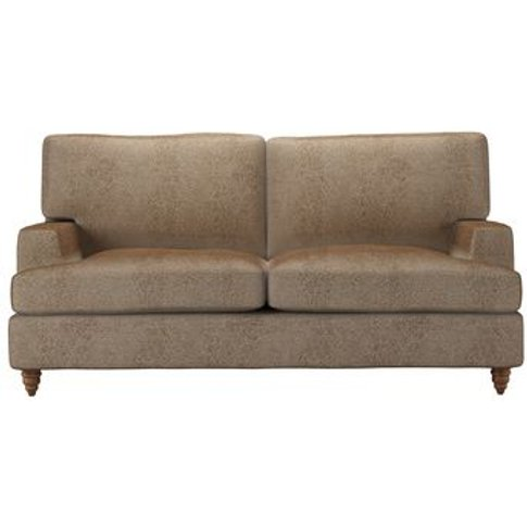 Isla 2 Seat Sofabed In Light Natural Leopard