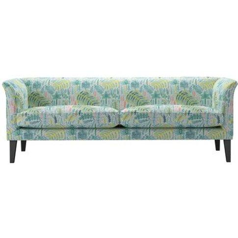 Fingal 3 Seat Sofa In Dawn Lucy Tiffney London Lagoon