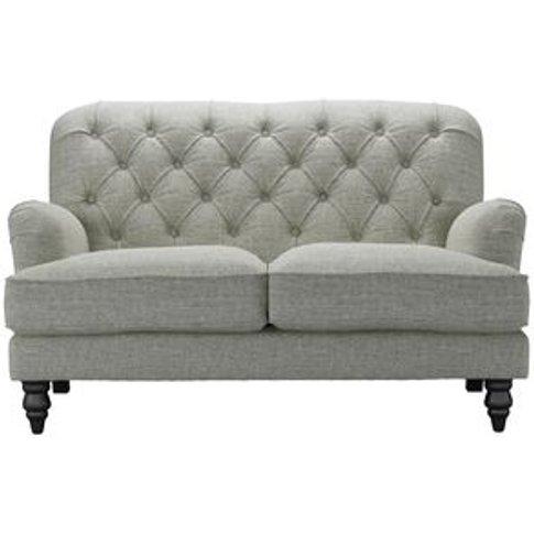 Snowdrop Button Back 2 Seat Sofa (Breaks Down) In Gr...