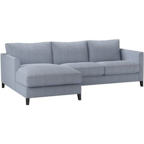 Izzy Small Lhf Chaise Sofa In Uniform House Herringb...