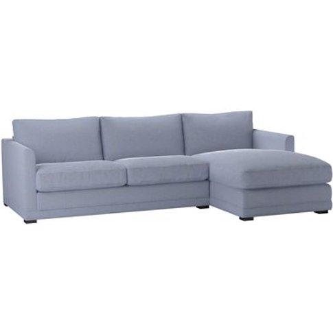 Aissa Medium Rhf Chaise Sofa In Uniform House Basket...