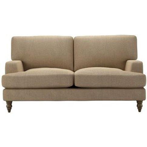 Isla 2 Seat Sofa In Flax Pure Belgian Linen