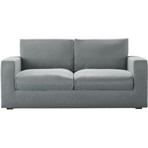 Stella 2.5 Seat Sofabed In Cirrus Smart Slubby Cotton