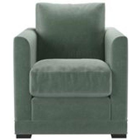 Aissa Armchair In Sage Smart Velvet