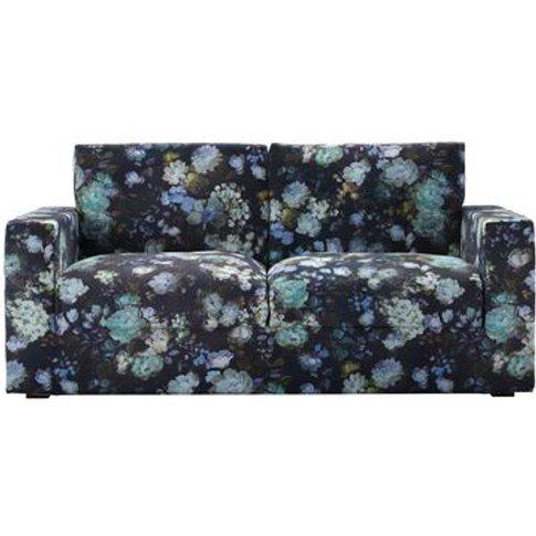 Stella 2.5 Seat Sofa (Breaks Down) In Periwinkle Che...