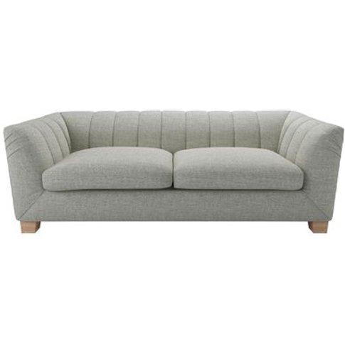Albie 3 Seat Sofa In Grey Marl Highland Tweed
