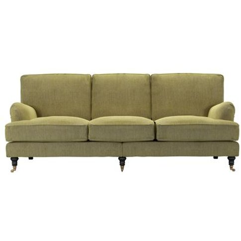 Bluebell 4 Seat Sofa In Chartreuse Chenille