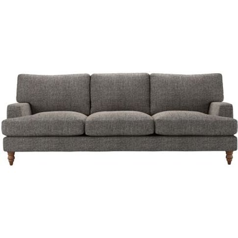 Isla 4 Seat Sofa In Tribal Silver Antiqued Weave