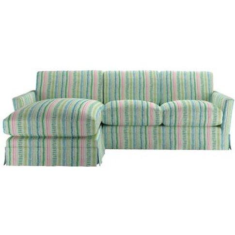 Otto Medium Lhf Chaise Sofa In Dawn Lucy Tiffney Lon...