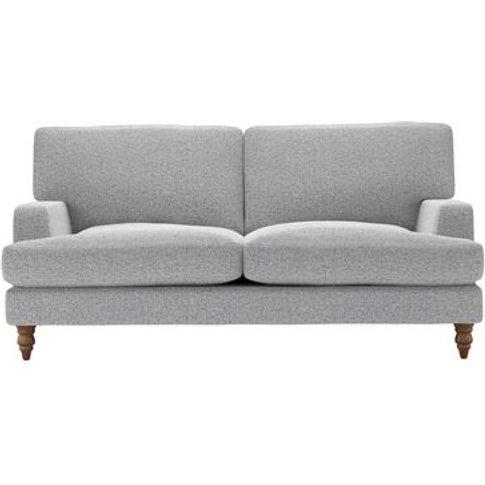 Isla 2.5 Seat Sofa In Hedgehog Dappled Viscose Wool