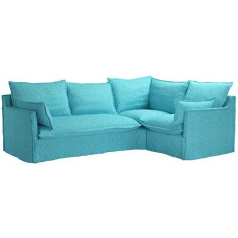 Isaac Asymmetrical: Lh 2 Seat Sofa W Rh Single Unit ...