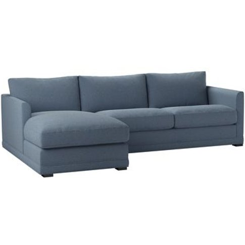 Aissa Medium Lhf Chaise Sofa In Stream Dovedale