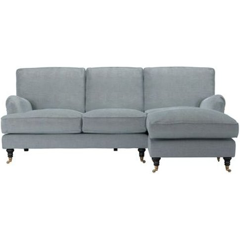 Bluebell Rhf Chaise Sofa In Buttermere Baylee Viscos...