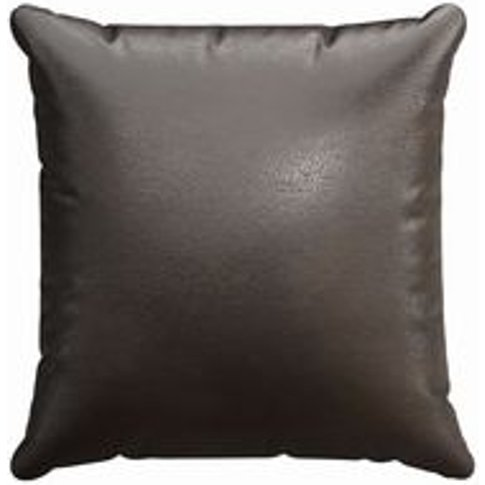 45x45cm Scatter Cushion In Espresso Bellwether Leather