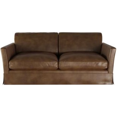 Otto 2.5 Seat Sofabed In Mocha Bellwether Leather