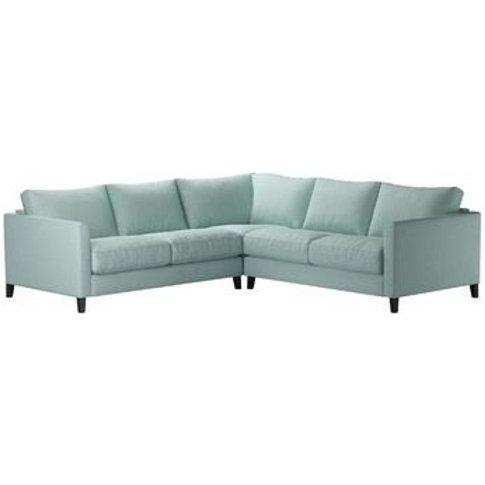 Izzy Small Corner Sofa In Cambridge Blue Pure Belgia...