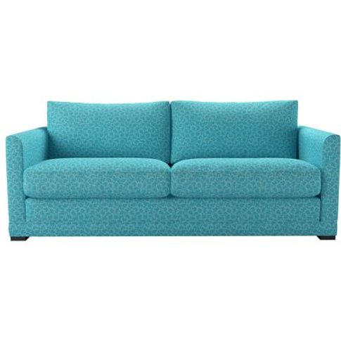 Aissa 3 Seat Sofa In Ola Squares Waves