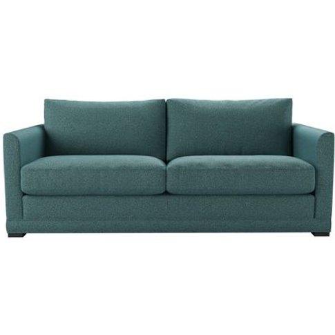 Aissa 3 Seat Sofabed In Crocodile Dappled Viscose Wool