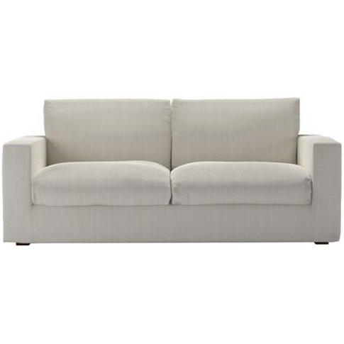 Stella 3 Seat Sofa Bed In Clay House Herringbone Weave