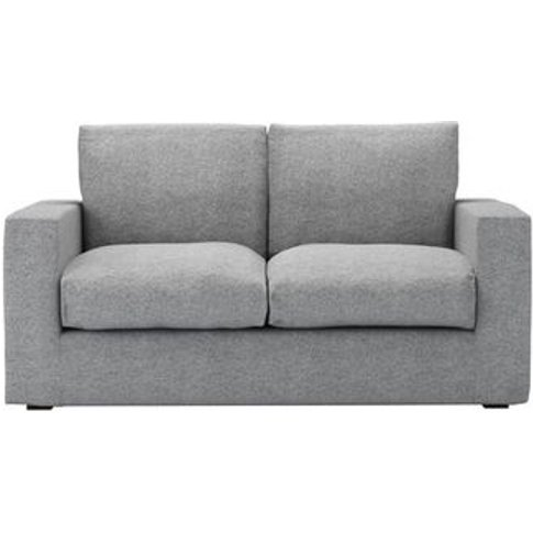 Stella 2 Seat Sofa In Ash Soft Wool