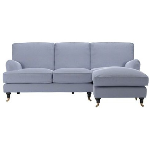 Bluebell Rhf Chaise Sofa In Uniform House Basket Weave