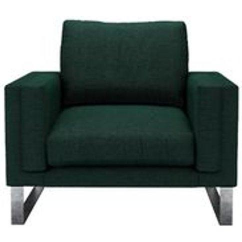 Costello Armchair In Cedar Soft Wool