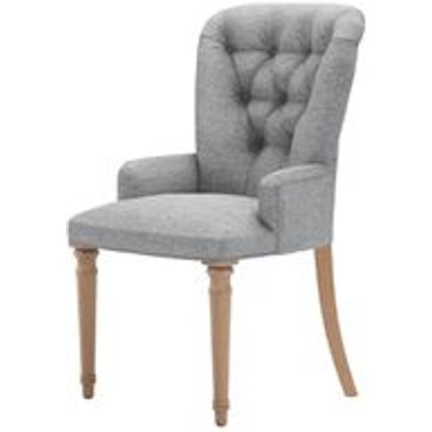 Sinclair Dining Chair In Ash Soft Wool